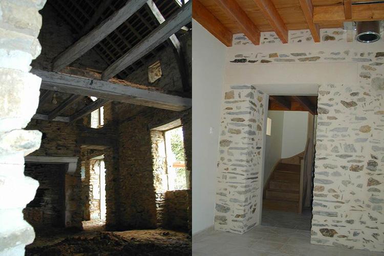 Architecte sain bel for Architecte renovation ferme